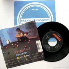 Discos de vinilo: DAVID LYME (JORDI CUBINO) - PLAYBOY - SINGLE MERCURY 1987 JAPAN (EDICION JAPONESA) ITALO-DISCO BPY. Lote 55571403