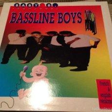 Discos de vinilo: BASSLINE BOYS - BABY B - MAXI BELGICA 1990 - HIP HOP RAP ELECTRO. Lote 55578654