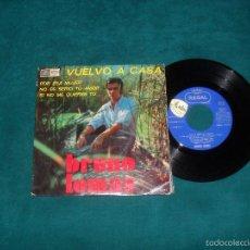BRUNO LOMAS, VUELVO A CASA. EMI REGAL 1968, EP 4 TEMAS