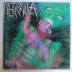Discos de vinilo: METRALLA - LA TORTURA DE LAS MUÑECAS - NUEVO A ESTRENAR. Lote 55686654