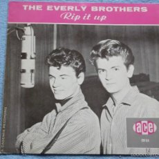Discos de vinilo: THE EVERLY BROTHERS,RIP IT UP REDICION. Lote 55697597
