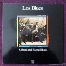 Discos de vinilo: LOS BLUES, URBAN AND RURAL BLUES (CBS) LP - ROBERT JOHNSON MAGGIE JONES CLARA SMITH BIG MAYBELLE. Lote 55701385