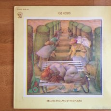 Discos de vinilo: GENESIS: SELLING ENGLAND BY THE POUND. Lote 55708440