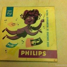 Discos de vinilo: LA MELODIA VIAJERA - PHILIPS. Lote 55714185
