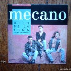 Discos de vinilo: MECANO - HIJO DE LA LUNA ( CARA A EN FRANCES, CARA B EN ESPAÑOL) , EDICION FRANCESA. Lote 55717064