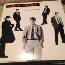 Discos de vinilo: THE FIXX - HOW MUCH IS ENOUGH - DANCE MIX - MAXI UK IMPACT AMERICAN 1991. Lote 55718117