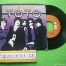 Discos de vinilo: TOTO I´LL SUPPLY THE LOVE SINGLE 1979 PDELUXE. Lote 55718371