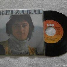 Discos de vinilo: REYZABAL (MODULOS) 7´SG.CUANDO ESTOY TRISTE / EL PRESAGIO (1978) COMO NUEVO. Lote 55729013