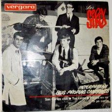 Discos de vinilo: LOS SIREX - SAN CARLOS CLUB + 3 TEMAS VERGARA - 1964. Lote 55729435
