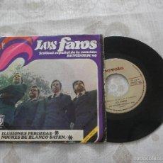 Discos de vinilo: LOS FAROS 7´SG ILUSIONES PERDIDAS+ 1 (1968) **SU DISCO MAS DIFICIL** BUENA CONDICION-BENIDORM 1968. Lote 55772997