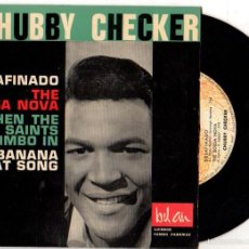 Discos de vinilo: SINGLE CHUBBY CHECKER. BEL AIR.. Lote 55773608