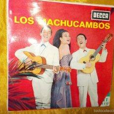 Discos de vinilo: LOS MACHUCAMBOS. LA MAMMA + 3. EP. DECCA EDICION FRANCESA. Lote 55778425