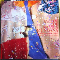 Discos de vinilo: TALLER DE MÚSICA MUNDANA. CONCIERTO PARA PAPEL. GRABACIONES ACCIDENTALES. 1987. Lote 55778723