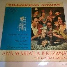Discos de vinilo: VILLANCICOS GITANOS.CAMPANAS DE NAVIDAD.EP.ESPAÑA 1965.ZAFIRO.. Lote 55779106