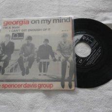 Discos de vinilo: THE SPENCER DAVIS GROUP 7´EP GIORGIA ON MI MIND + 2 (1967) EN BUEN ESTADO-EDICION ESPAÑOLA PRIMERA. Lote 55784120