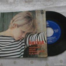 Discos de vinilo: KARINA 7´EP ME LO DIJO PEREZ + 3 TEMAS (1965) OCASION PRECIO Y ESTADO VINILO. Lote 55785061