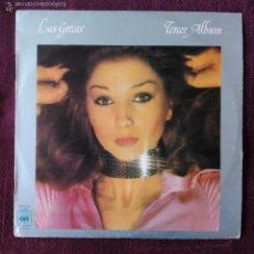Discos de vinilo: GRECAS, LAS - TERCER ALBUM (CBS) LP. Lote 55787858