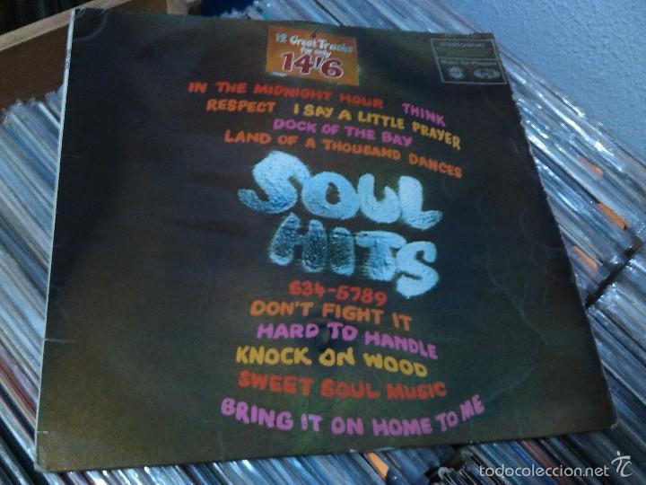 SOUL HITS LP 1968 UK Msica