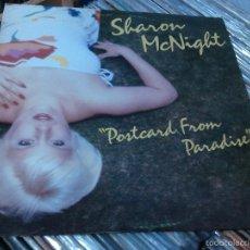 Discos de vinilo: SHARON MCNIGHT ?– POSTCARD FROM PARADISE LP 1981 USA . Lote 55793118