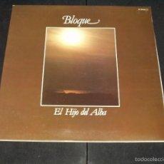Discos de vinilo: BLOQUE LP EL HIJO DEL ALBA. Lote 55794009