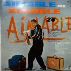 Discos de vinilo: AIMABLE CON AIMABLE -24 GRANDES EXITOS -25CM. Lote 55797348