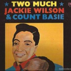 Discos de vinilo: LP-JACKIE WILSON & COUNT BASIE TWO MUCH MCA 21286 SPAIN 1970. Lote 55808746