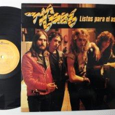Discos de vinilo: TIGRES, LISTOS PARA EL ASALTO 1984 LP COMO NUEVO. Lote 55814886