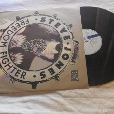 Discos de vinilo: STEVE JONES FREEDOM FIGHTER MAXI IMPORTACION UK 1989. Lote 55819264