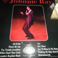 Discos de vinilo: JOHNNIE RAY - THE BEST OF JOHNNIE RAY LP - EDICION INGLESA - HALLMARK / PICKWICK 1966 STEREO -. Lote 55820684