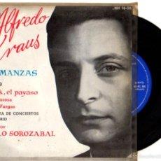 Discos de vinilo: SINGLE ALFREDO KRAUS. ROMANZAS. VOL. 3. DIRECTOR PABLO SOROZABAL. HISPAVOX. Lote 55826247