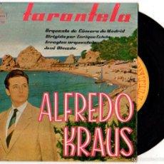Discos de vinilo: SINGLE ALFREDO KRAUS. TARANTELA. ORQUESTA DE CAMARA DE MADRID. DIRECTOR ENRIQUE ESTELA.. Lote 55826568