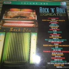 Discos de vinilo: ROCK N ROLL GREATS VOLUME ONE LP - EDICION INGLESA - EMI / MFP RECORDS 1986 - MONO- MUY NUEVO(5). Lote 55840374