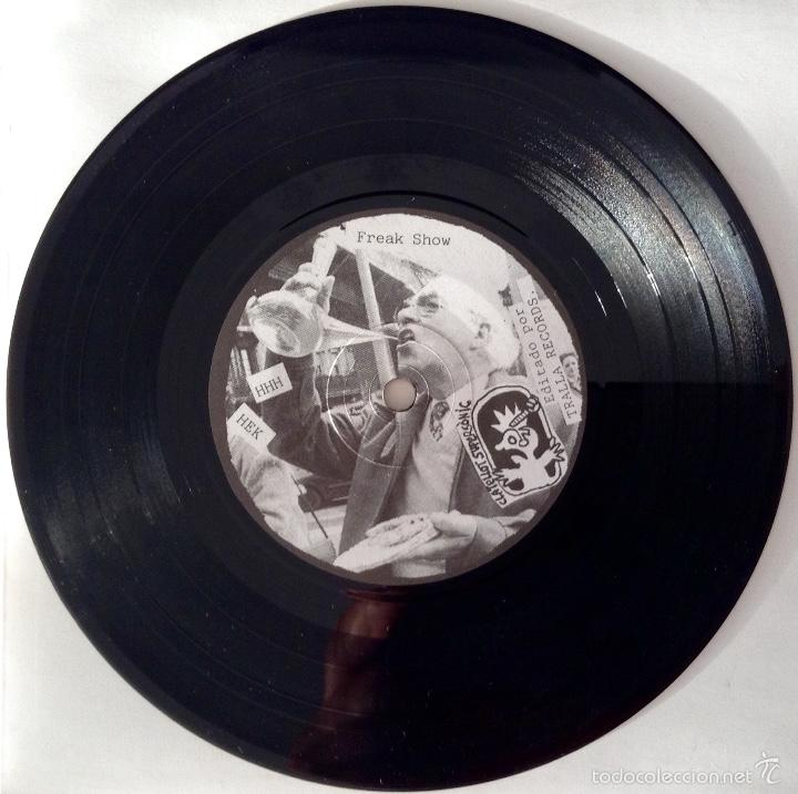 Discos de vinilo: Minimum Rockerol EP HHH Freak Show Hasta el Kulo No veas No Inkisicao ARRGHH! - Foto 3 - 55843664