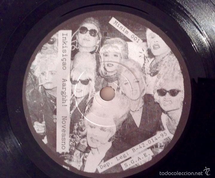 Discos de vinilo: Minimum Rockerol EP HHH Freak Show Hasta el Kulo No veas No Inkisicao ARRGHH! - Foto 4 - 55843664