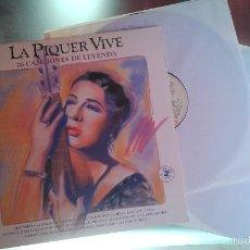 Discos de vinilo: CONCHITA (CONCHA) PIQUER - LA PIQUER VIVE 26 CANCIONES DE LEYENDA (EMI, 2LP, 1991). Lote 55852902