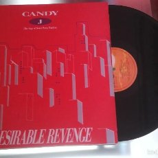 Discos de vinilo: CANDY J - DESIRABLE REVENGE - MAXI - VINILO. Lote 55858718