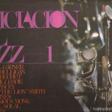 Discos de vinilo: LP-INICIACION AL JAZZ VOL.1 HISPAVOX 18-1017 SPAIN 1966. Lote 55858780