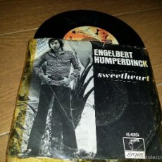 Discos de vinilo: ENGELBERT HUMPERDINCK SINGLE 1970. Lote 55858875