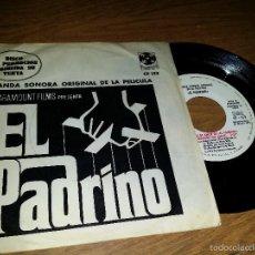 Discos de vinilo: BANDA SONORA ORIGINAL DE LA PELÍCULA EL PADRINO. Lote 55859028