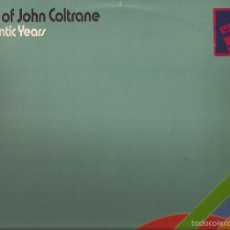 Discos de vinilo: LP-THE ART OF JOHN COLTRANE ATLANTIC YEARS DOBLE LP HISPAVOX 500 37/38 SPAIN 1970. Lote 55859374