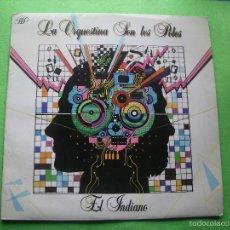 Discos de vinilo: LA ORQUESTINA SON LES POLES - EL INDIANO - LP - TECHNO - CANCION ASTURIANA 1986 ASTURIAS. Lote 55860563