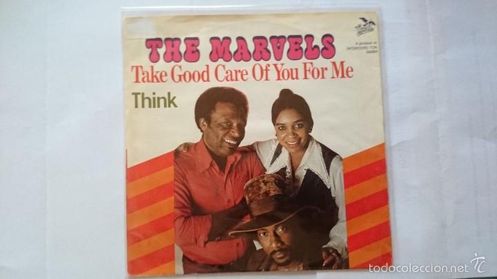 THE MARVELS - TAKE GOOD CARE OF YOU FOR ME / THINK (ARETHA FRANKLIN) (EDIC. ALEMANA 1976) (Música - Discos - Singles Vinilo - Reggae - Ska)