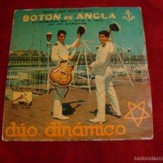 Discos de vinilo: DUO DINAMICO SELLO LA VOZ DE MI AMO 1960 BOTON DE ANCLA. Lote 55862109