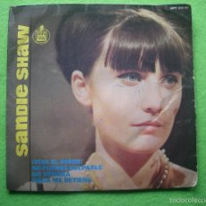 Discos de vinilo: SANDIE SHAW, EP, ¡VIVA EL AMOR!+ 3, AÑO 1965 PEPETO. Lote 55864819