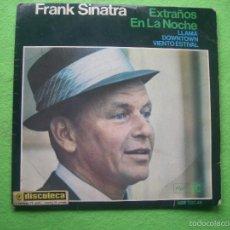 Discos de vinilo: FRANK SINATRA-EXTRAÑOS EN LA NOCHE, LLAMA, DOWNTOWN, VIENTO ESTIVAL****EP REPRISE. Lote 55864848