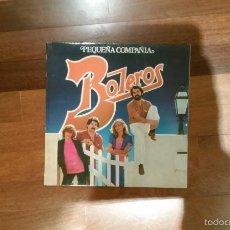 Discos de vinilo: PEQUEÑA COMPAÑIA-BOLEROS.FONOMUSIC LP. Lote 55884151