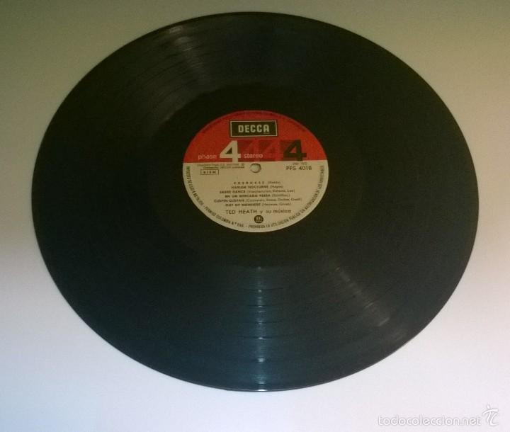 Discos de vinilo: Ted Heath y su música.Big Band Bash.LP.ESPAÑA 1968.DECCA. - Foto 3 - 55884437