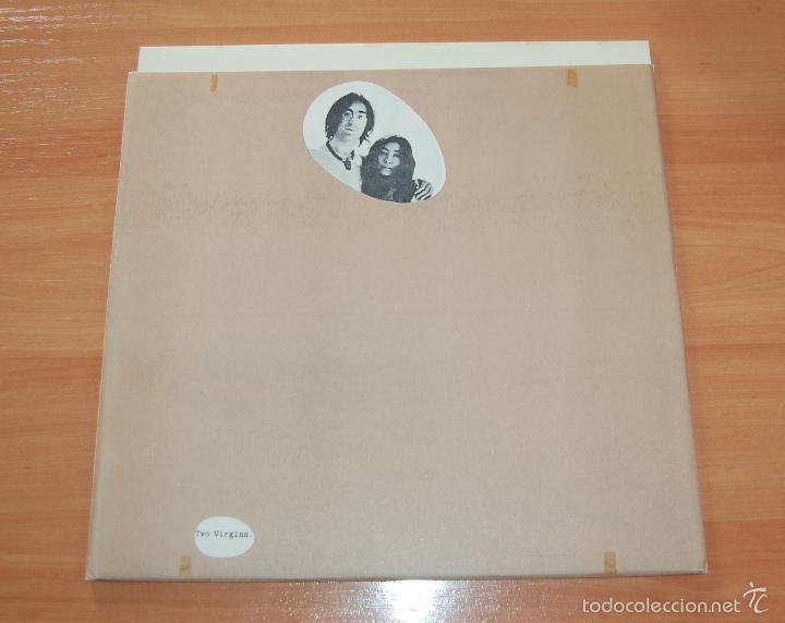 LP DISCO VINILO JOHN LENNON AND YOKO ONO TWO VIRGINS (Música - Discos - LP Vinilo - Rock & Roll)