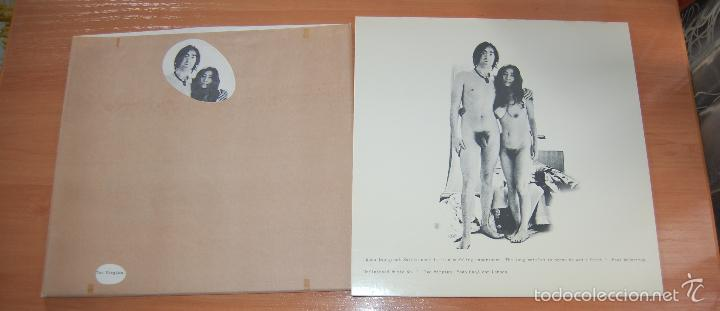 Discos de vinilo: LP DISCO VINILO JOHN LENNON AND YOKO ONO TWO VIRGINS - Foto 2 - 55885781