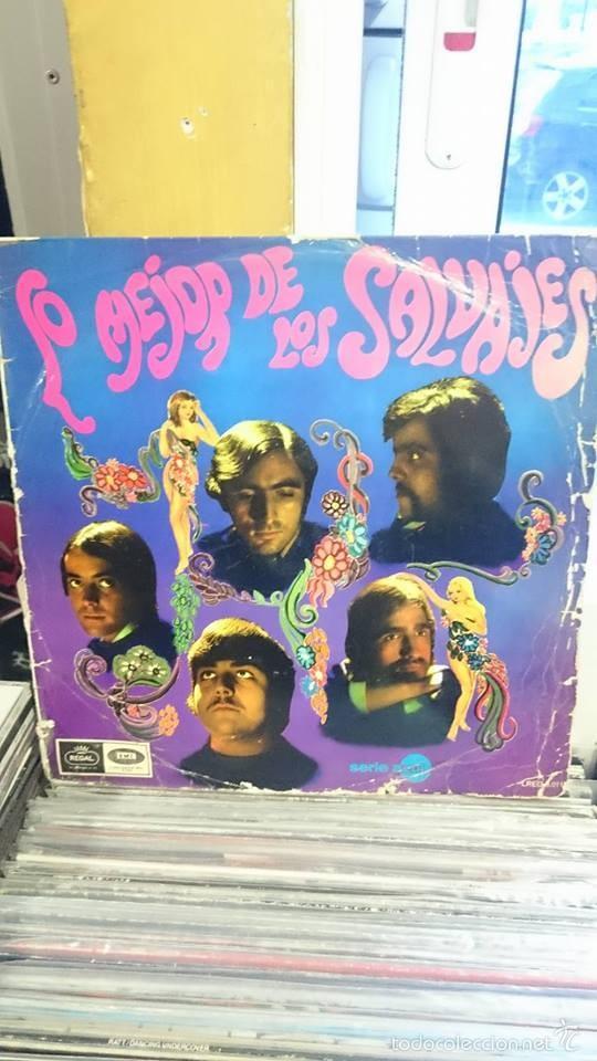 LOS SALVAJES / LO MEJOR DE LOS SALVAJES / REGAL 1967 (Música - Discos - LP Vinilo - Grupos Españoles 50 y 60)